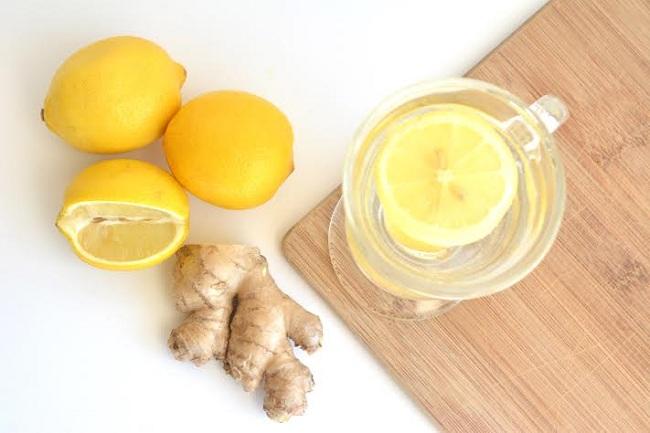 Gừng và chanh – Nước uống detox giúp bạn giảm cân vù vù (4)