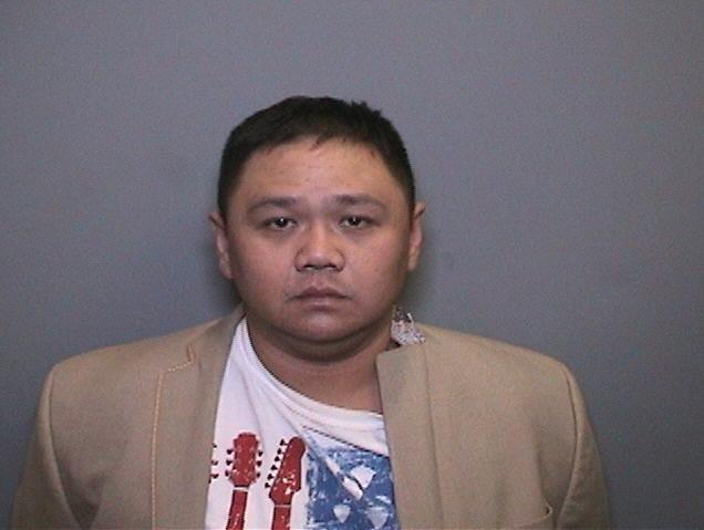 Hình ảnh Minh Béo bị bắt ở Mỹ được một tờ báo của Mỹ đưa tin vào sáng ngày 29/3.