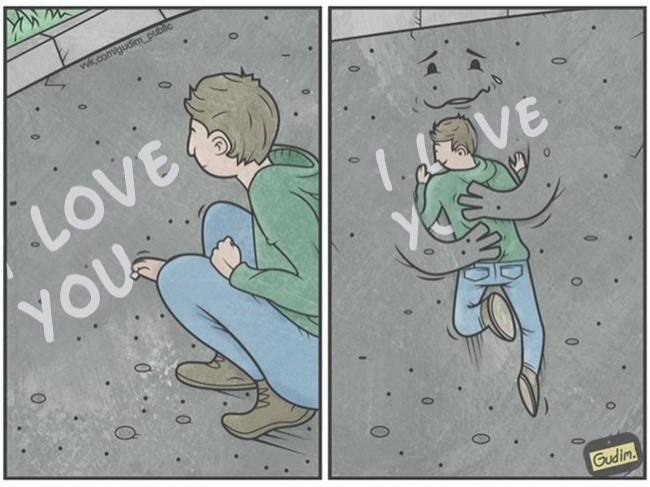 Tình yêu thời hiện đại luôn chất chứa nhiều nỗi cô đơn.