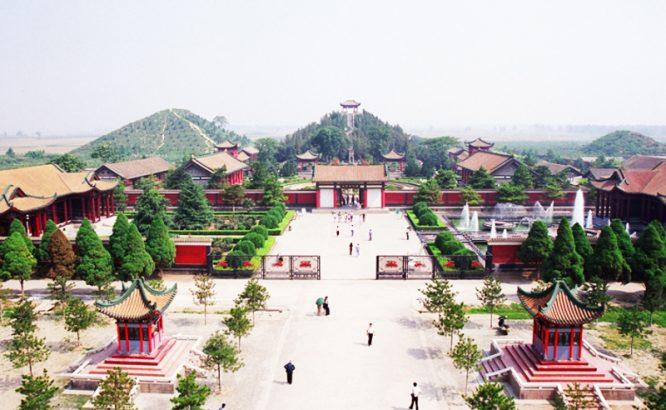 Hàm Dương là một trong những kinh đô cổ đại nổi tiếng trong lịch sử Trung Quốc. (Ảnh: Kknews)