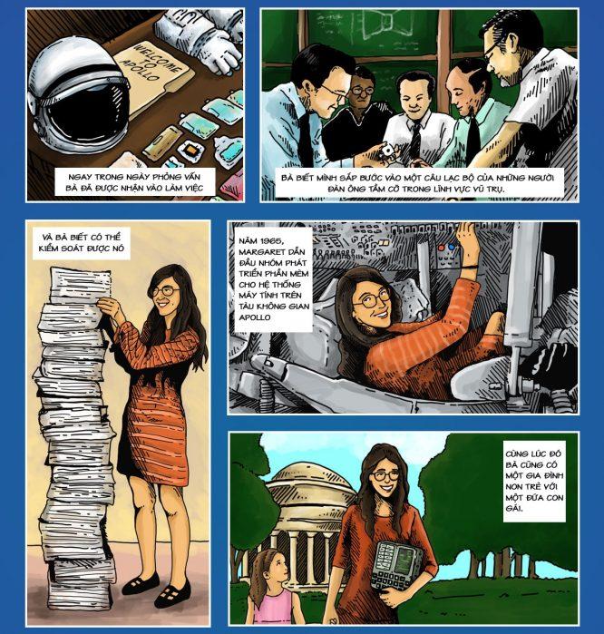 Margaret Hamilton - Người phụ nữ cứu nguy phi thuyền Apollo đáp xuống Mặt Trăng.4