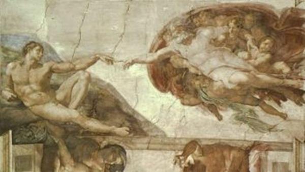 ADAM: Trần Nhà thờ Sistine: Sáng Thế, 'Sự sáng tạo ra Adam' (Artrenewal.org)