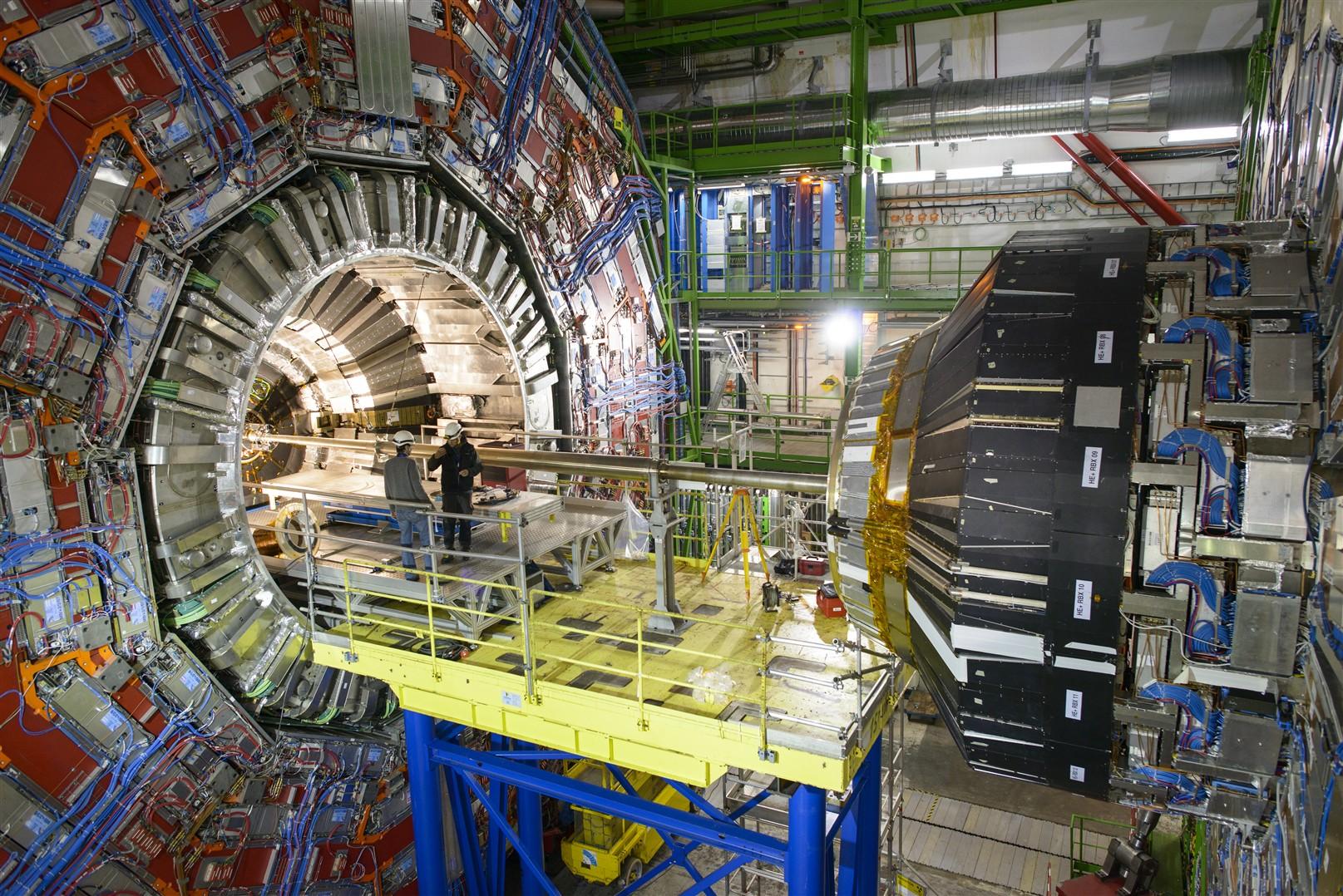 Cỗ máy gia tốc hạt lớn vùng ngoại ô Thụy Sĩ.
