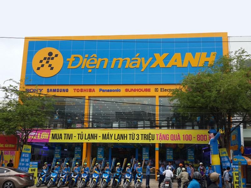 Cuối tháng 8/2016, hãng có 1.017 siêu thị đang hoạt động, trong đó, chuỗi Thegioididong.com có 880 siêu thi và 137 siêu thị Điện máy Xanh.