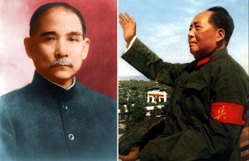 """Thái độ khác nhau của Tôn Trung Sơn và Mao Trạch Đông đối với hai chữ """"vạn tuế"""" H1"""
