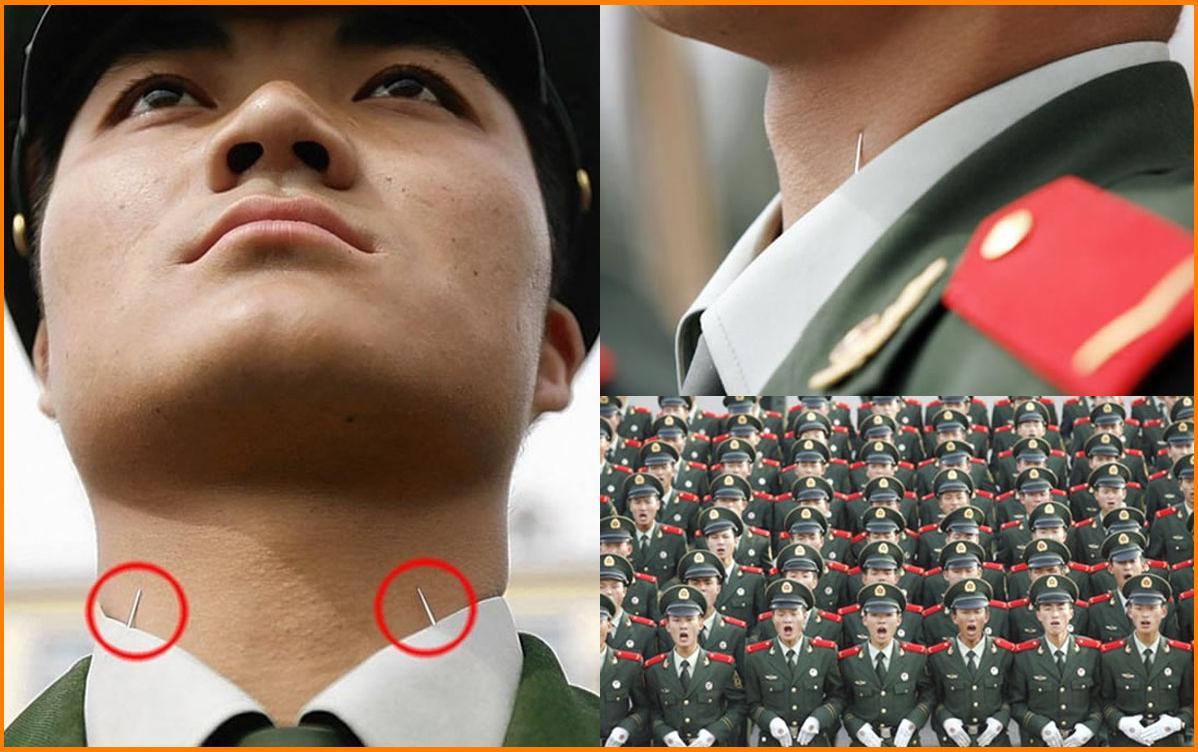 Hình ảnh quá trình luyện tập quân ngũ nghiêm ngặt của những người lính