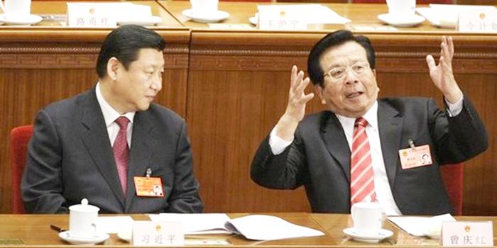 Tăng Khánh Hồng, cánh tay đắc lực của phe cánh Giang Trạch Dân đang bị điều tra. (Ảnh: NTDTV)