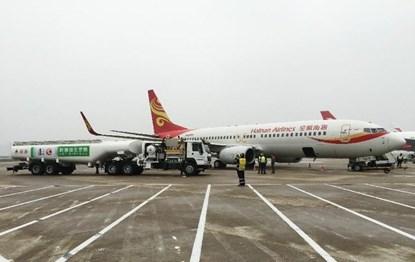 """Chiếc máy bay đầu tiên bay bằng nhiên liệu """"dầu ăn"""" của Trung Quốc"""