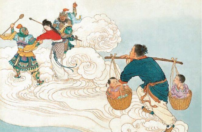 Lễ hội Thất Tịch và chuyện tình tiên phàm Ngưu Lang - Chức Nữ. 5