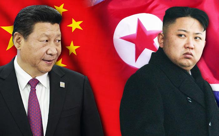 Cưng thẳng leo thang trước bài luận trên trang Thông tấn Quốc gia Triều Tiên. (Ảnh: Daily Star)