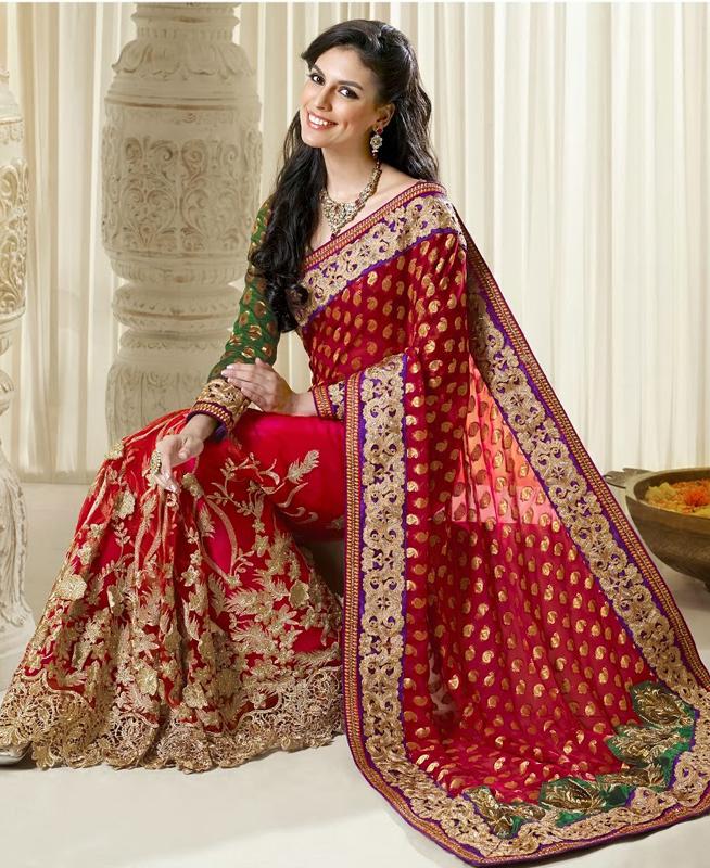 Xinh đẹp như cô dâu châu Á trong váy cưới truyền thống.9