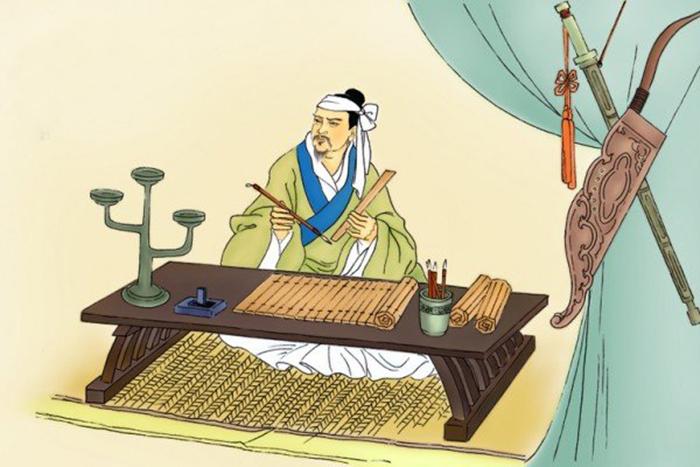 Tôn Tẫn từ nhỏ theo học binh pháp với Quỷ Cốc Tử, đã tỏ ra có tài năng hơn người. (Ảnh: Epoch Times)