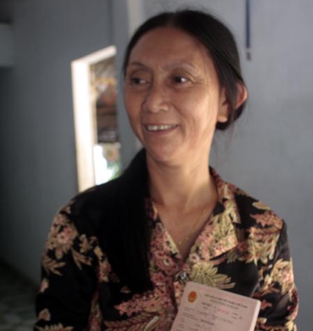 Chị Bậu nay đã có quốc tịch Trung Quốc sau 22 năm mất tích.