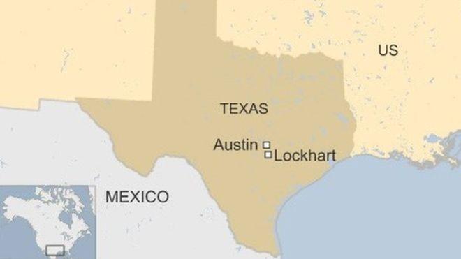 Vụ cháy khí cầu xảy ra gần Lockhart, bang Texas.