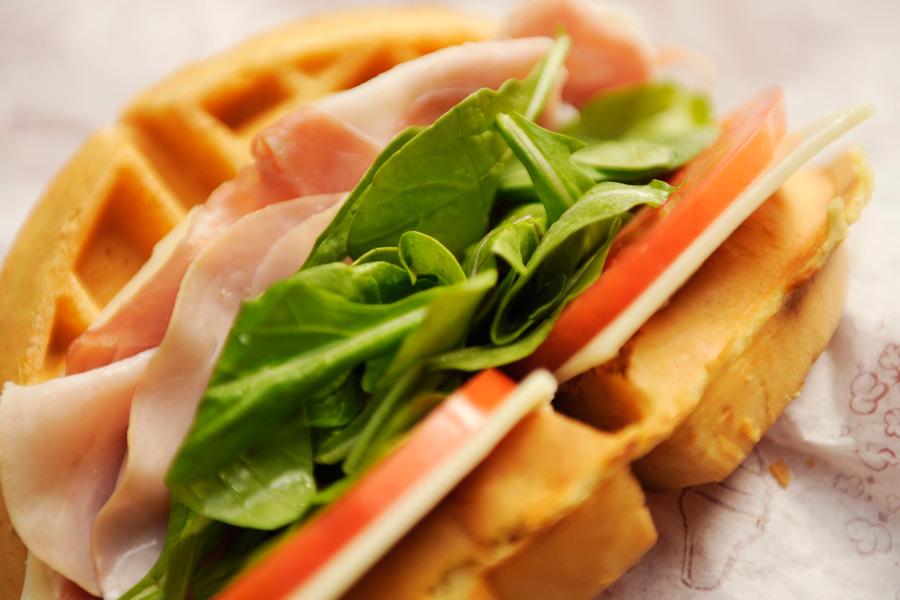 banh 6 - sanwich wafle
