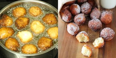 Cách làm bánh rán phomai - món ăn vặt siêu ngon và dễ làm của Nga