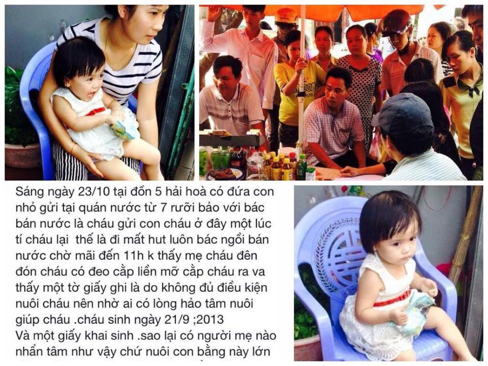 Câu chuyện bé gái 2 tuổi bị bỏ rơi gây xôn xao dư luận (Ảnh Beat).