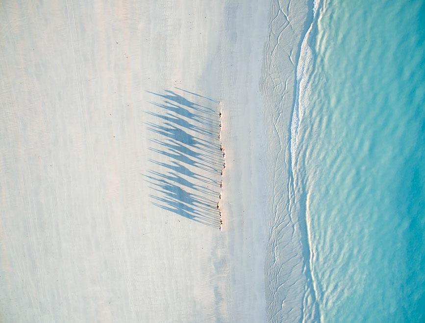 Giải nhì hạng mục du lịch: Dây cáp trên bờ biển.