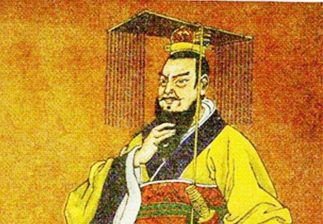 Chân dung Hoàng đế Tần Thủy Hoàng. (Ảnh: Kknews)