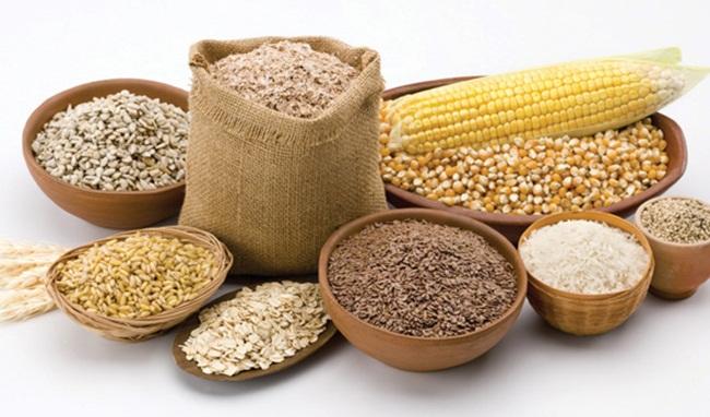Ngũ cốc nguyên hạt chứa rất nhiều chất xơ (ảnh: Internet)