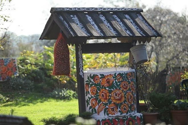 Zalipie - Ngôi làng rực rỡ sắc hoa ở Balan.6