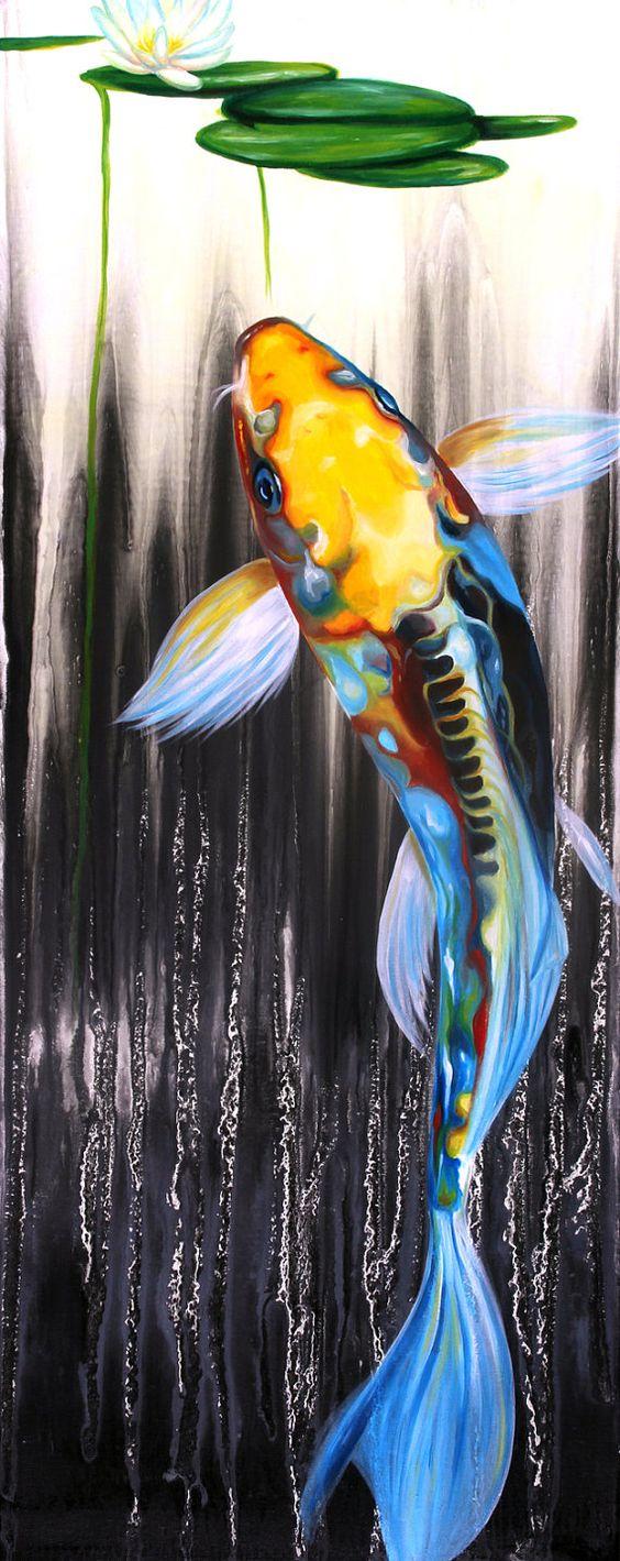 Bộ sưu tập cá chép trong tranh gửi thông điệp chúc phúc ngày xuân - H7