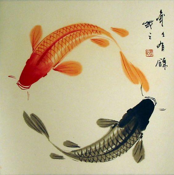 Bộ sưu tập cá chép trong tranh gửi thông điệp chúc phúc ngày xuân - H8