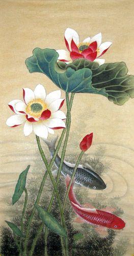 Bộ sưu tập cá chép trong tranh gửi thông điệp chúc phúc ngày xuân - H13