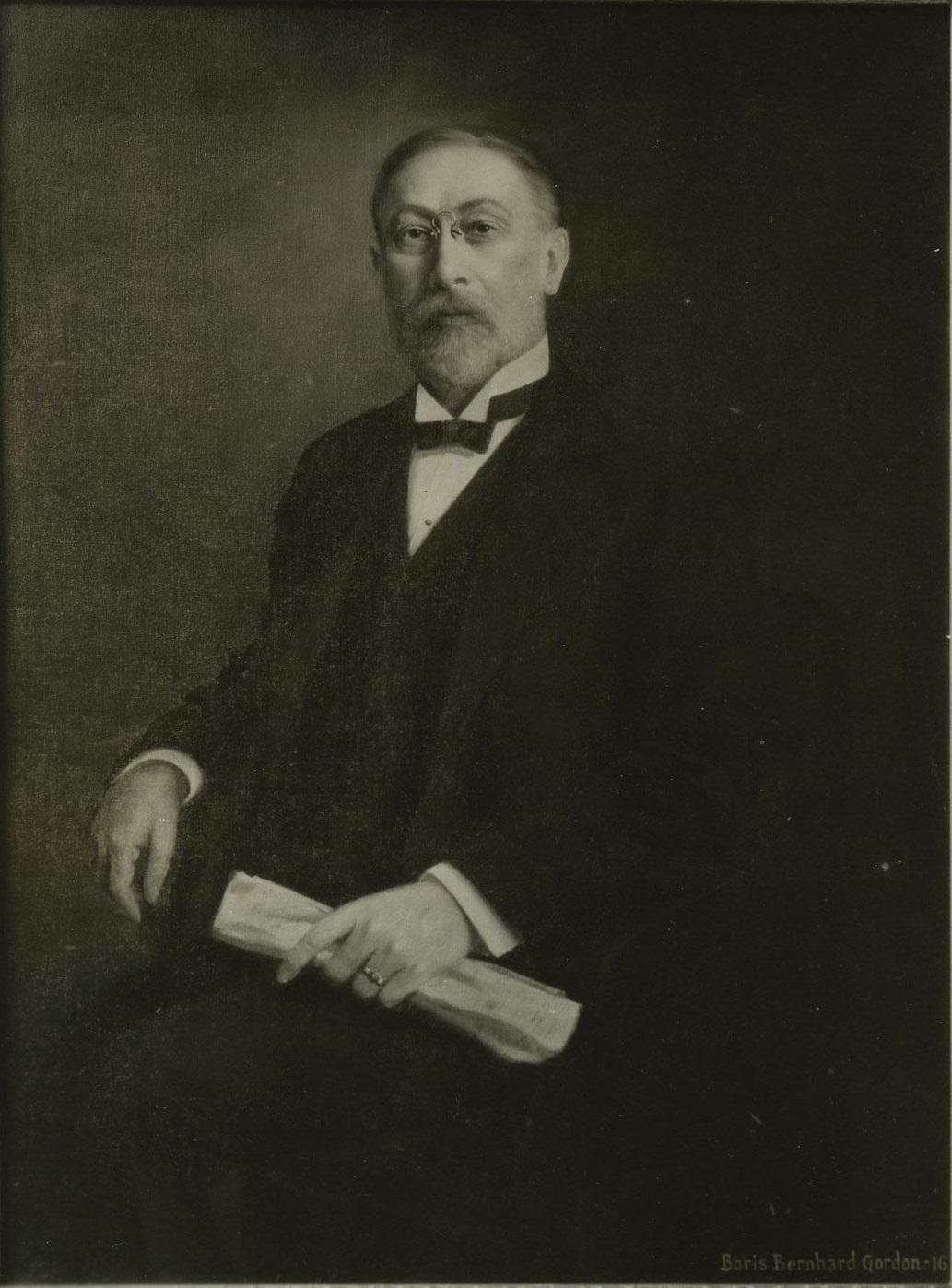 Portrait painting of George C. Boldt, 1916