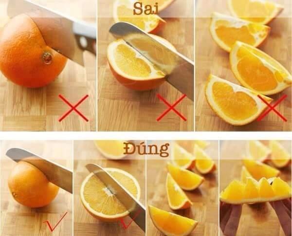 Làm thế nào để gọt trái cây nhanh và đẹp mắt?3