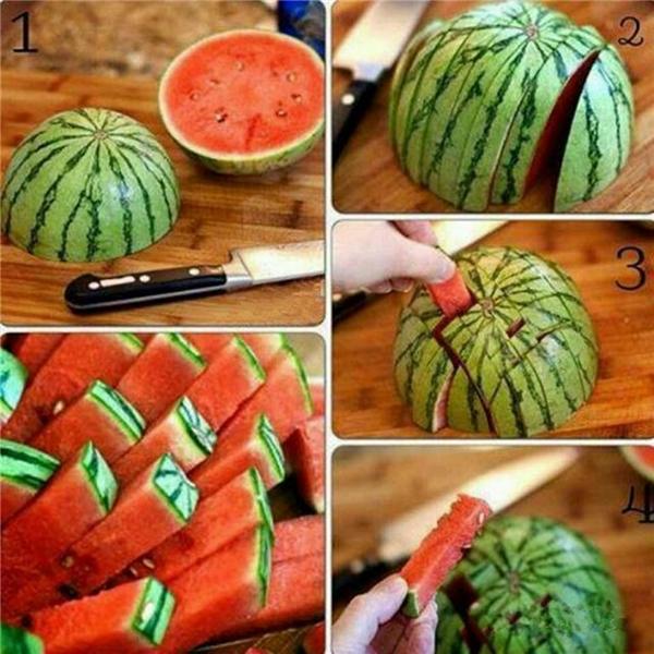 Làm thế nào để gọt trái cây nhanh và đẹp mắt?5