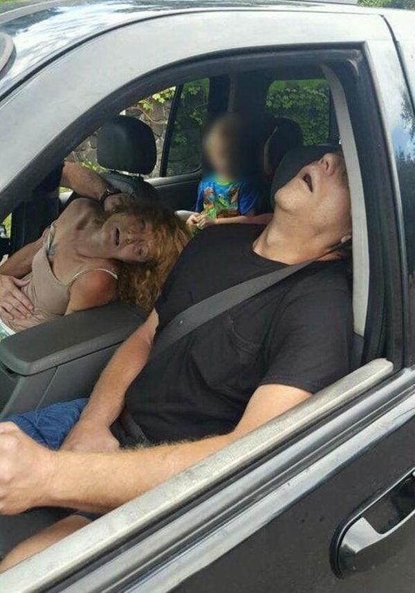 Hình ảnh gây sốc do cảnh sát Ohio đăng lên Facebook (Ảnh: Cảnh sát Ohio)