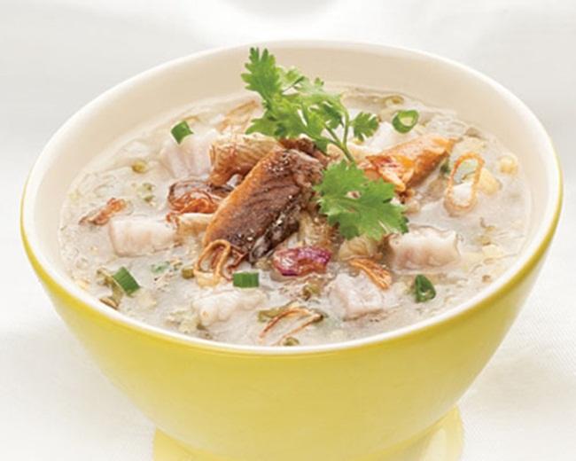 Cách nấu cháo lươn bí đỏ dinh dưỡng cho bé.1