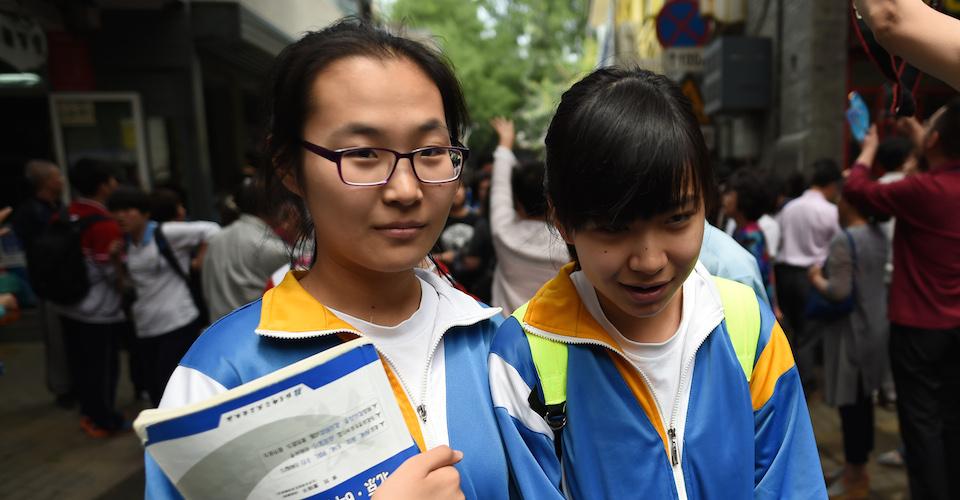 CHINA-EDUCATION-ECONOMY