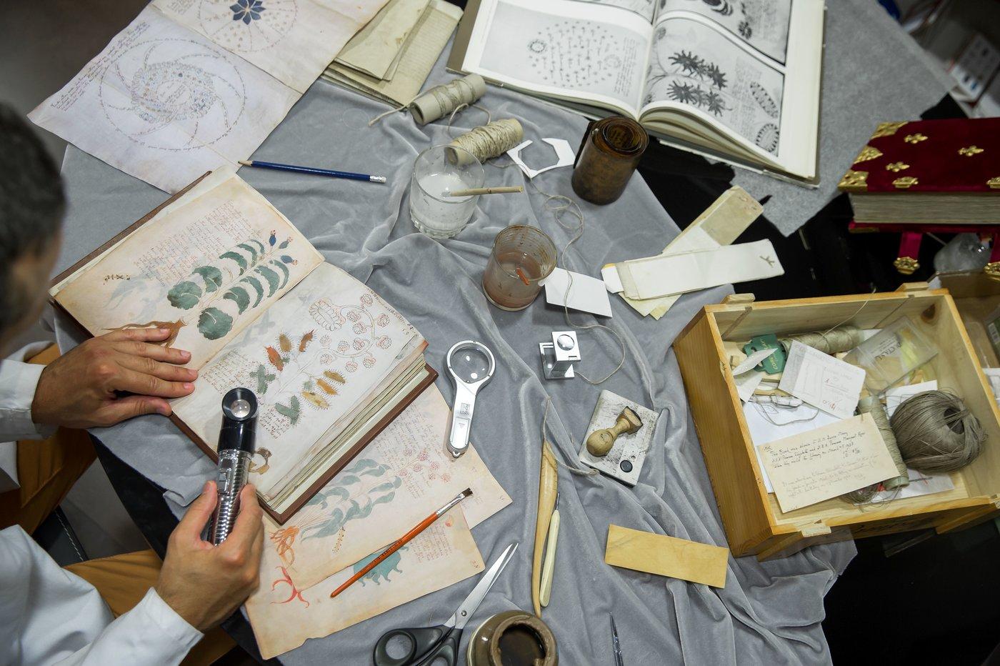 Voynich là một cuốn sách toát ra vẻ bí ẩn ngay từ cái nhìn đầu tiên