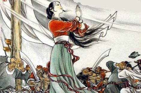 """Nỗi oan Đậu Nga và câu chuyện """"Tuyết tháng 6"""""""