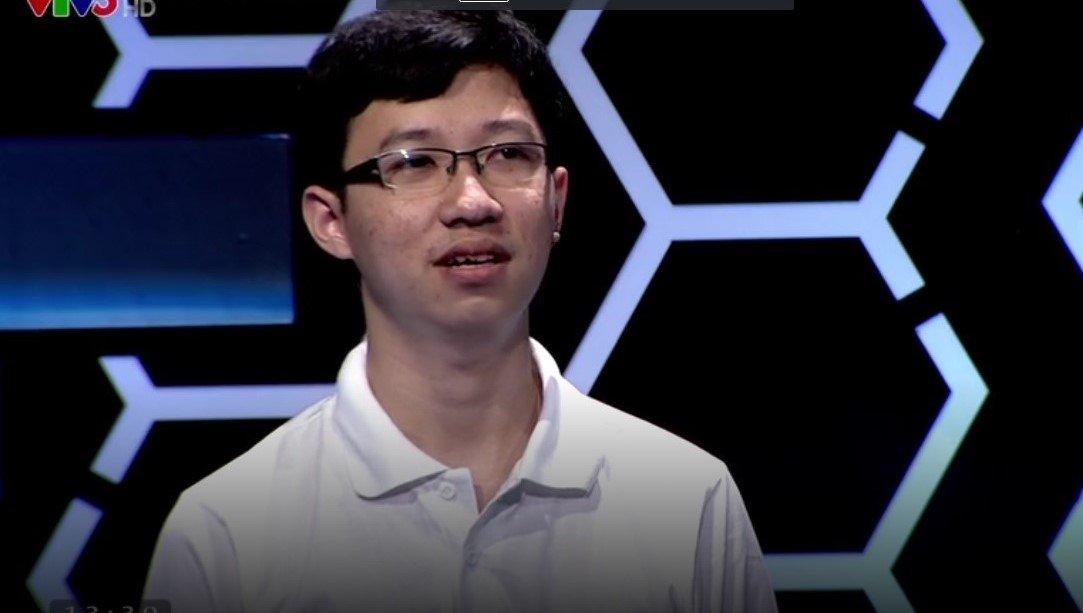 """""""Cậu bé Google"""" tiếp tục thể hiện phong độ ở phần thi Tăng tốc. (Ảnh: Internet)"""
