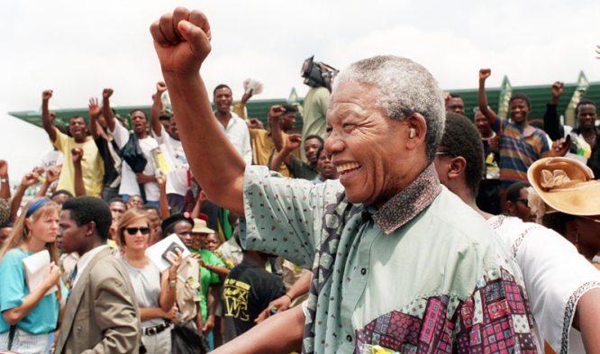 Sự khoan dung, độ lượng của ông Mandela và tinh thần lạc quan hướng về phía trước của ông đã làm cảm động sâu sắc đến tất cả mọi người. (Ảnh: )