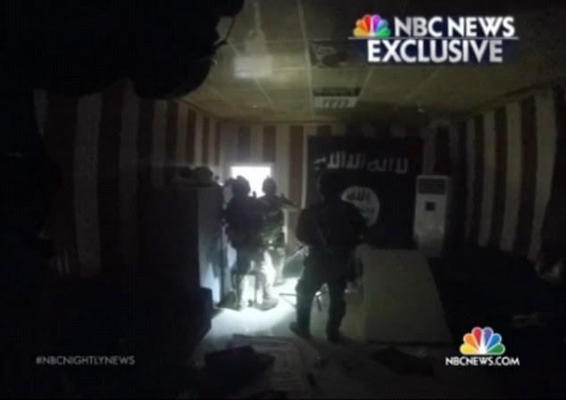 Hình ảnh về cuộc đột kích. (Nguồn: NBC News)