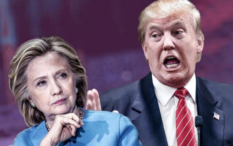 Cựu Ngoại trưởng Mỹ Hillary Clinton đã quay trở lại chính trường nhằm chống lại Donald Trump)