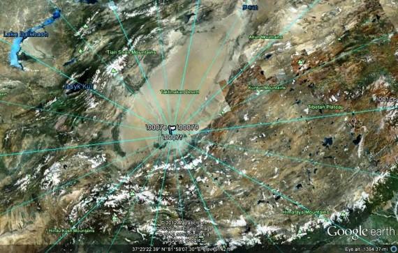 Hình ảnh cho thấy mạng lưới lực hút Trái Đất trong vùng cấm.