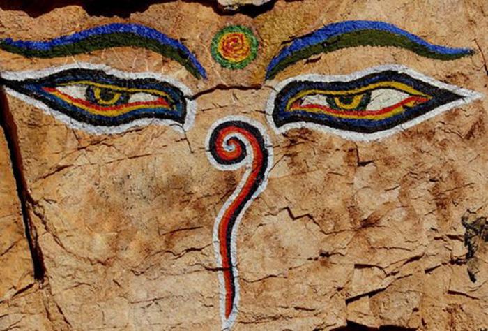 Đôi mắt của đức Phật
