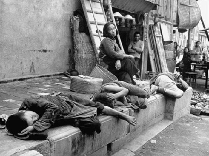 Người dân Trung Quốc trong thời Nạn đói lớn. (Ảnh: China Underground)