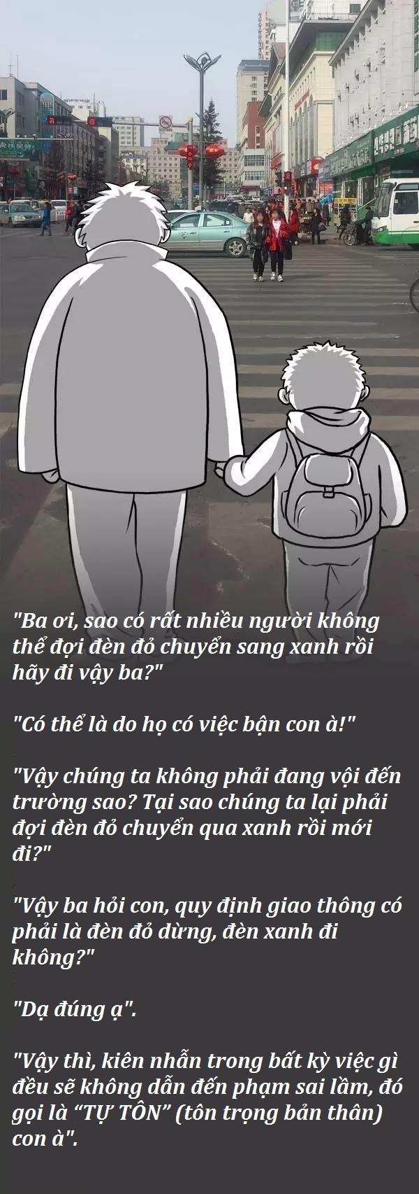 Đối đáp giữa cha và con: Những bài học vỡ lòng hữu ích cho trẻ.1