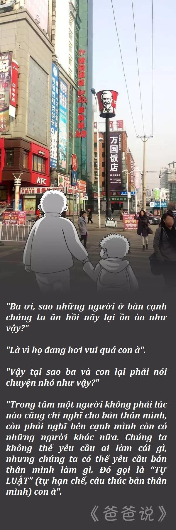 Đối đáp giữa cha và con: Những bài học vỡ lòng hữu ích cho trẻ.7