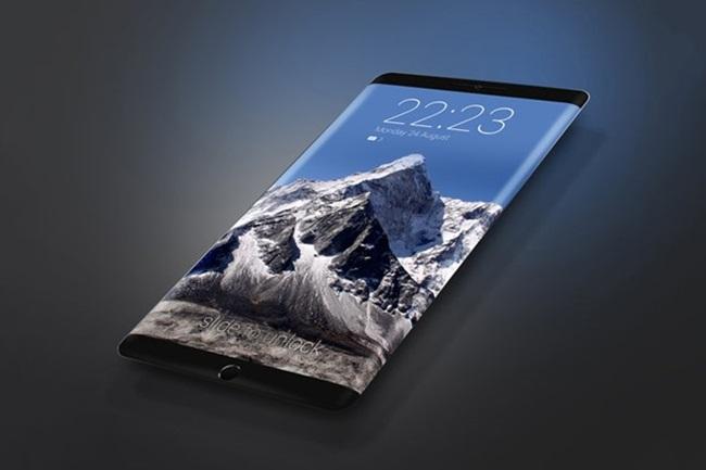 Một trong nhiều mẫu concept về iPhone 8, nhưng có khả năng trái với thực tế. Ảnh:Conceptphone.
