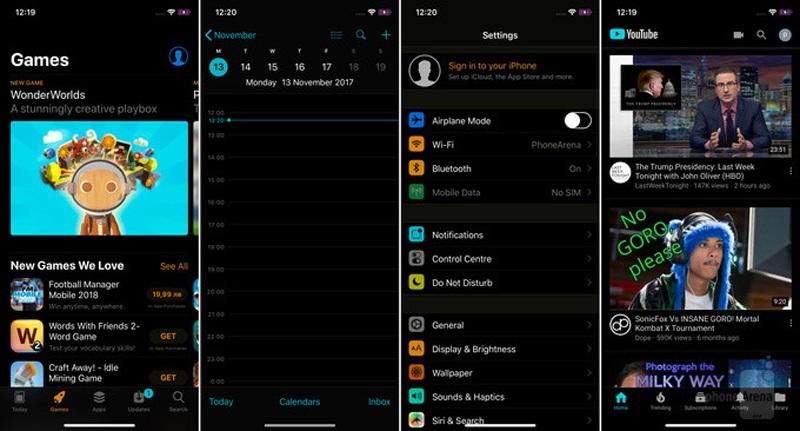 Chế độ đảo ngược màu trên iOS giúp thiết bị có nhiều khoảng không gian tối màu hơn, qua đó đỡ nhức mắt khi sử dụng trong điều kiện thiếu sáng và cũng giảm bớt điện năng tiêu thụ.