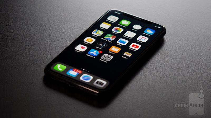 Dùng hình nền đen thay cho hình nền mặc định của iPhone X có thể tiết kiệm 20% năng lượng.