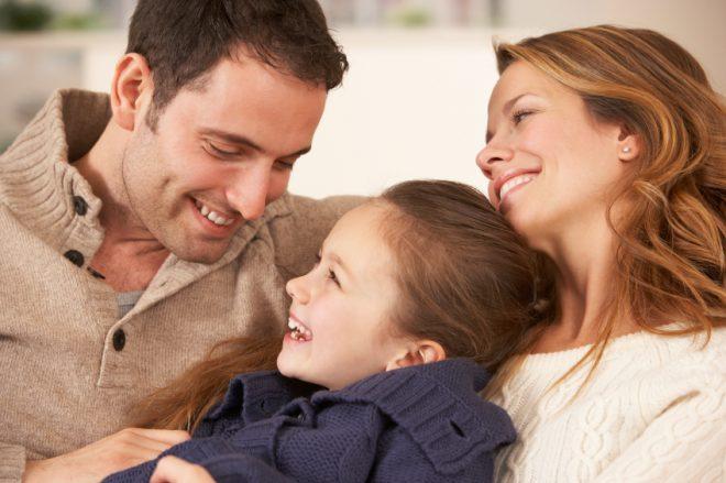Không khí gia đình ấm áp thoải mái là nơi thiên đường tràn đầy ánh nắng mặt trời của trẻ. 1