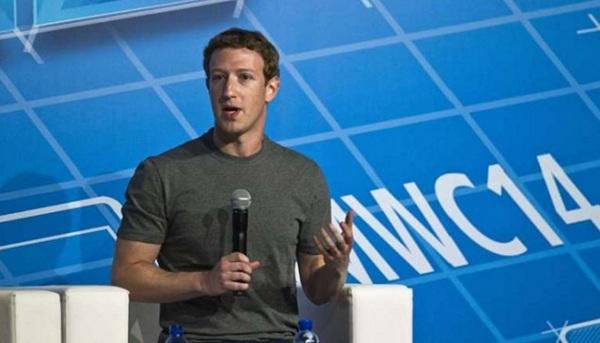 Mark Zuckerberg mất gần 4 tỷ USD vì giá cổ phiếu tuột dốc.